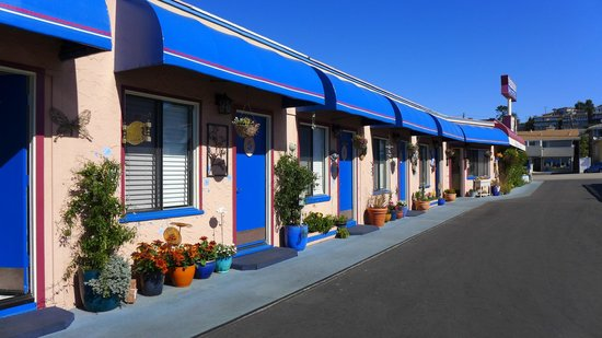 Seaside Motel: Motel rooms