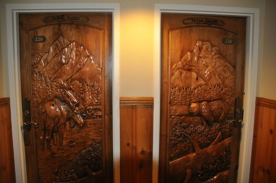 The Wort Hotel: doors to the grand teton suit