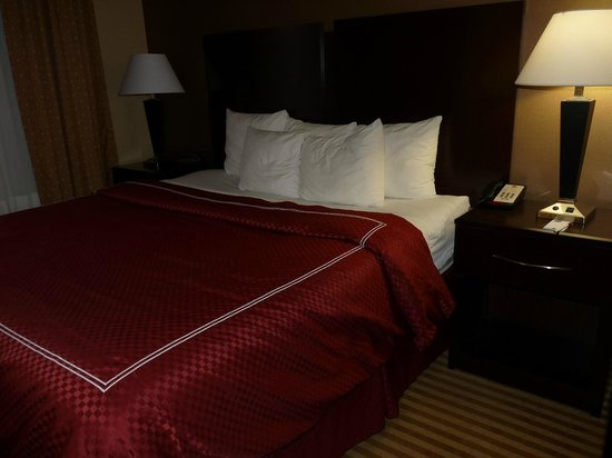 Comfort Suites: Great bed and bedding!