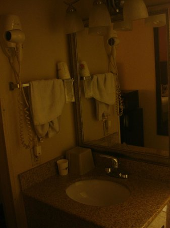 Super 8 by Wyndham Springfield East: Bathroom 2