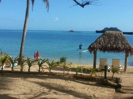 Malolo Island Resort : out front of bure