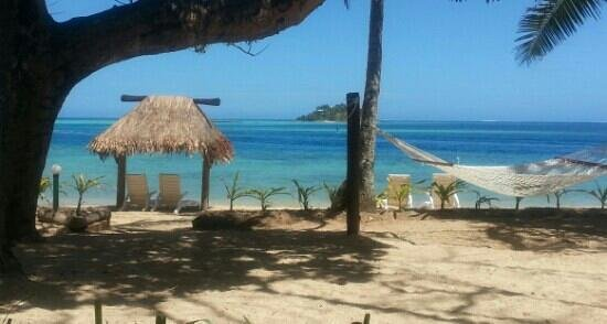 Malolo Island Resort : view from our room