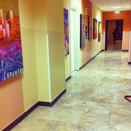 Plus Florence: Corredor de acesso aos quartos