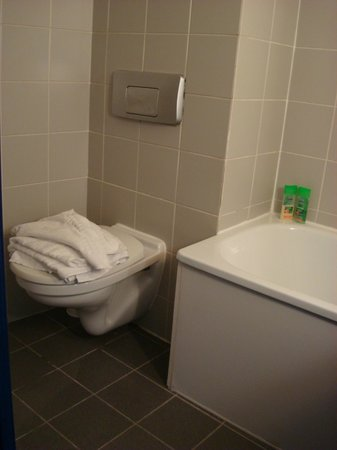 Comfort Hotel Davout Nation : Bathroom and toilet