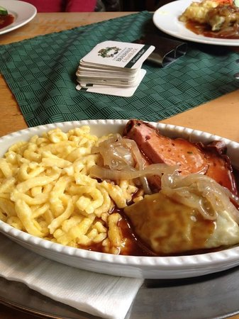 Brauhaus Calwer-Eck: 料理3