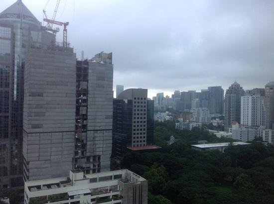 The Athenee Hotel, a Luxury Collection Hotel, Bangkok: my room view