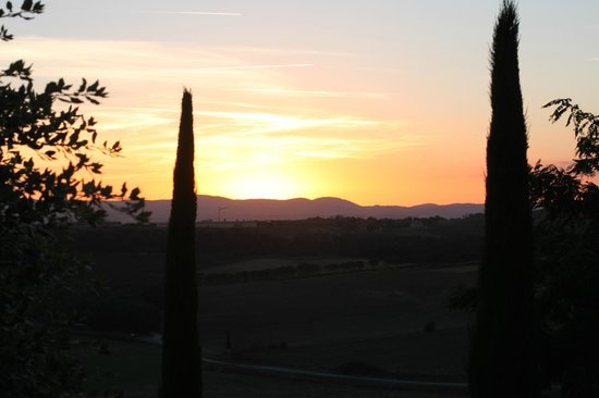 Borgo Tre Rose: view of sunset