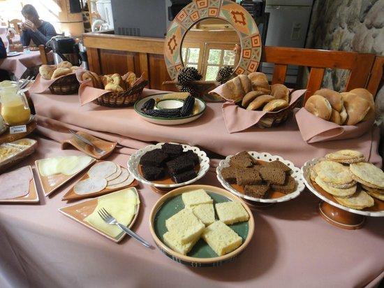 Hotel Samanapaq: Breakfast selection