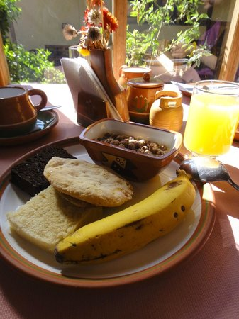 Hotel Samanapaq: Pretty good Breakfast