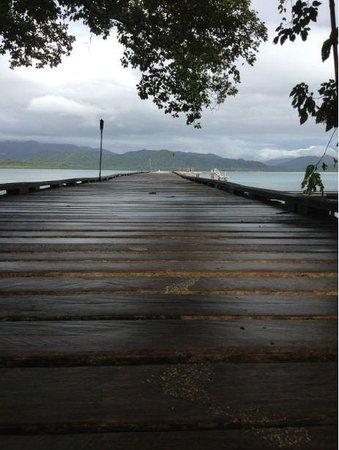 Tavanipupu Island Resort: main jetty