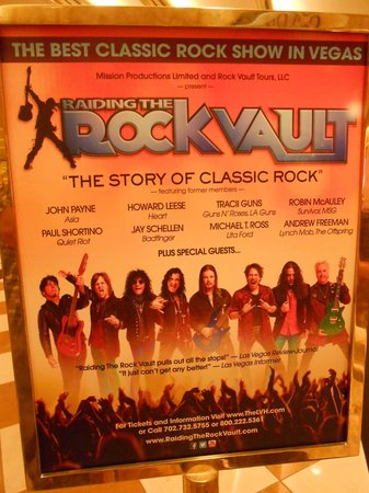 Raiding The Rock Vault: poster