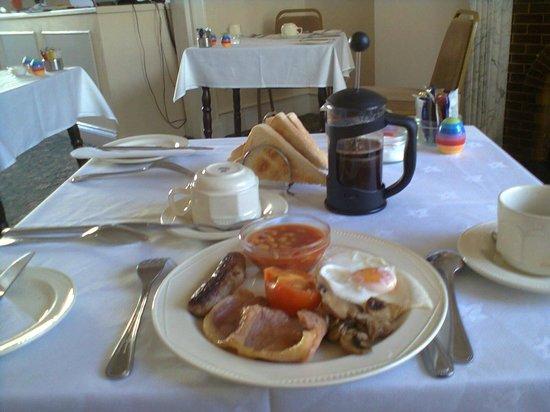 Ainsley House Hotel: English breakfast