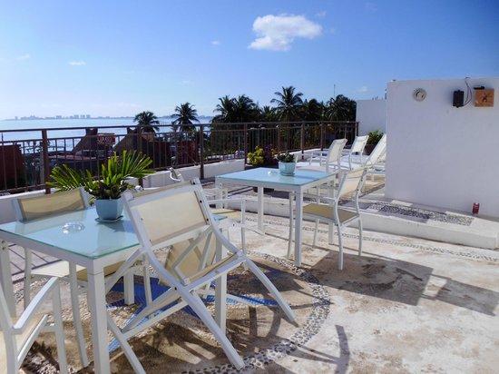 Hotel del Sol: Terraza en azotéa