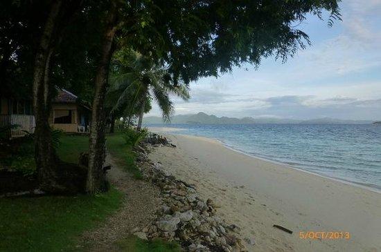 Banana Island : beach