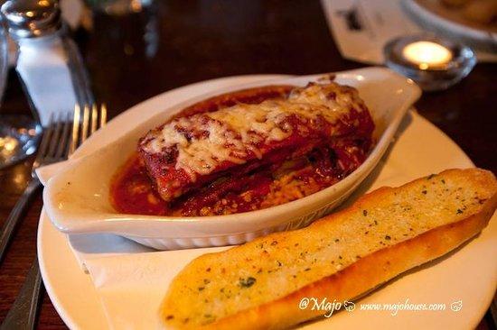 Lake Louise Station Restaurant: Veggie Lasagne, yummy