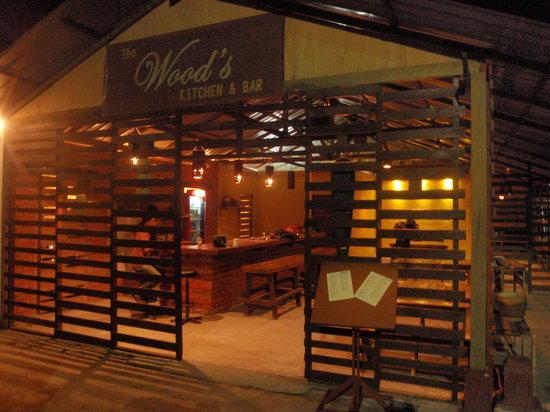 The Wood's Kitchen & Bar Langkawi: Wood's entrance