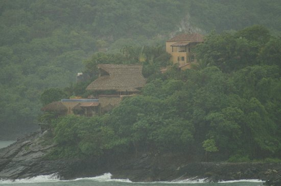 La Casa Que Canta: paisaje