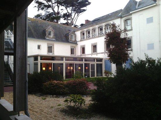 Hotel de Pen Bron : Cour intérieur