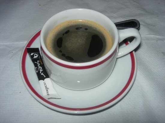 La Parisienne: Black coffee