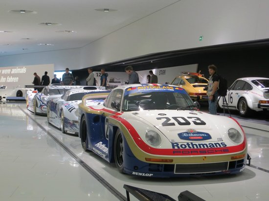 Displayed Cars Picture Of Porsche Museum Stuttgart