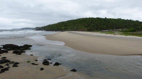 Khavane Beach: A view of the beach