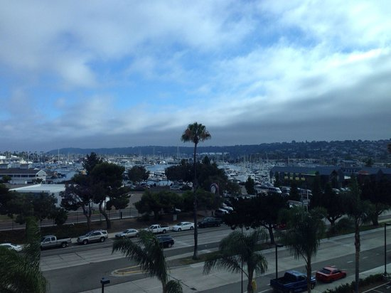 Holiday Inn San Diego-Bayside: View from our room