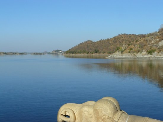 Udaipur District, Индия: Jaisamand Lake