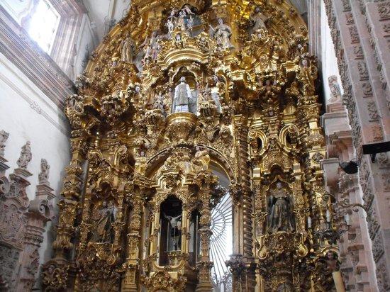 Templo La Valenciana: BELLEZA EN ORO