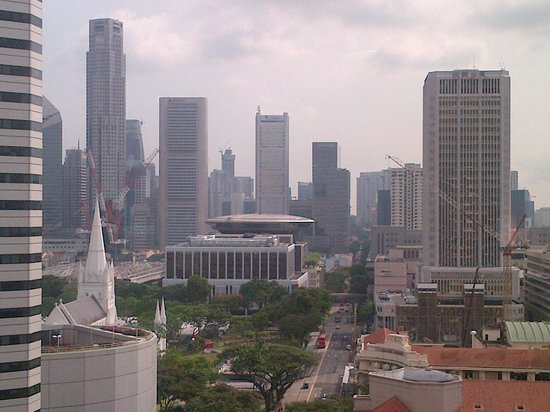Carlton Hotel Singapore: room view