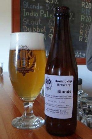Botrivier, Sydafrika: Blond beer