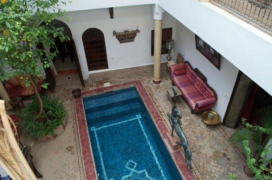 Riad El Zohar: piscine