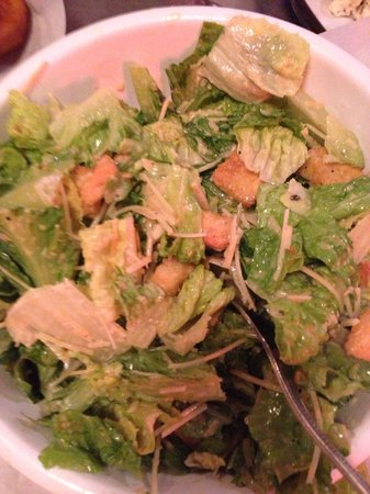 Phil's BBQ: Delicious side Caesar salad