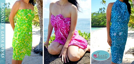 Janet's : Janets Ever Popular Premium Sarongs