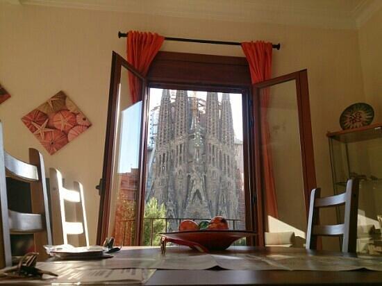 Gaudi's Nest: 部屋からの景色