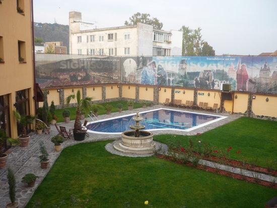 Korona Hotel: Balcony view