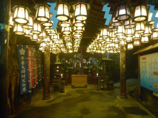 Yukai Resort Hotel Senjo: 三段壁洞窟の牟婁大弁財天