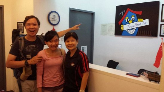 Travellers Loft @ Jalan Besar: The friendly and informative mrs jenny