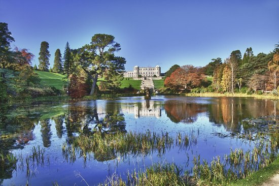 Powerscourt House Gardens In Autumn Picture Of Powerscourt Gardens And House Enniskerry
