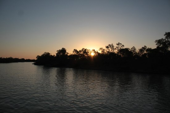 Outback Pioneers: Sunset on the river