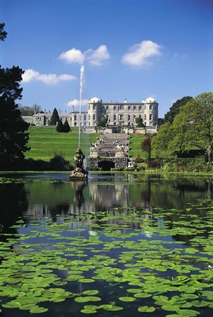 Enniskerry, Irland: Powerscourt House and Gardens