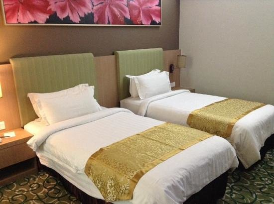 Hotel Aifa Labuan: Twin single bad room