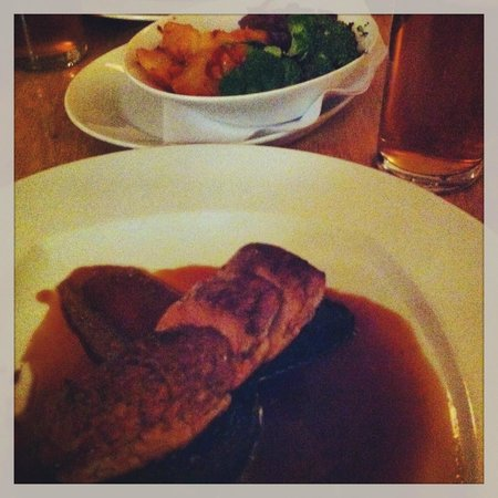Dolls House Restaurant: Pork and black pudding