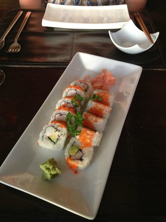 Restaurant 88: Wonderful California rolls