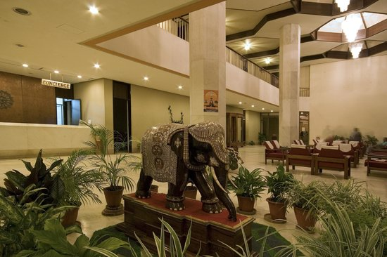 Hotel Paradise : The huge lobby