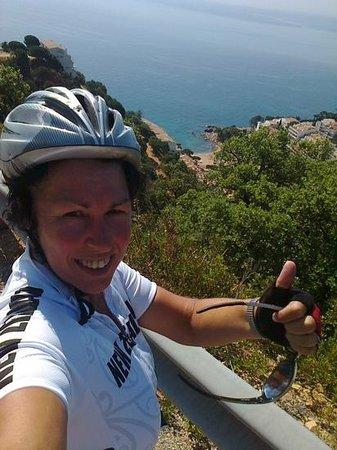 Bike Breaks Girona Day Tours: Incredible views on the Sant Grau ride