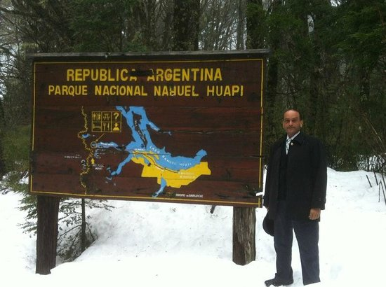 Hotel Natura Patagonia: Border of Argentina with Chile