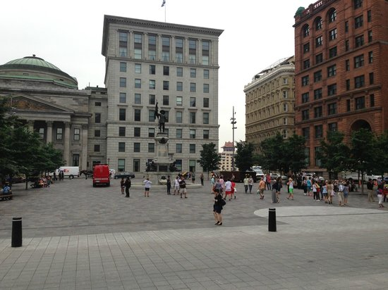 Place d'Armes : missing the trees