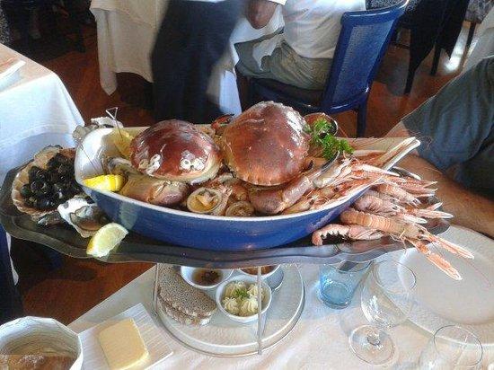 Hotel Restaurant Breiz Armor : Plateau de fruits de mer