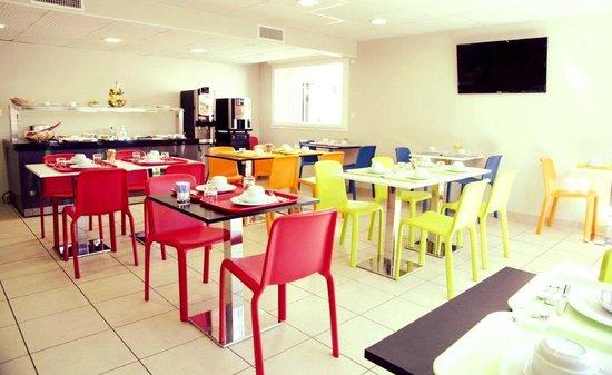 Lagrange Appart Hotel Saint Michel : Breakfast room
