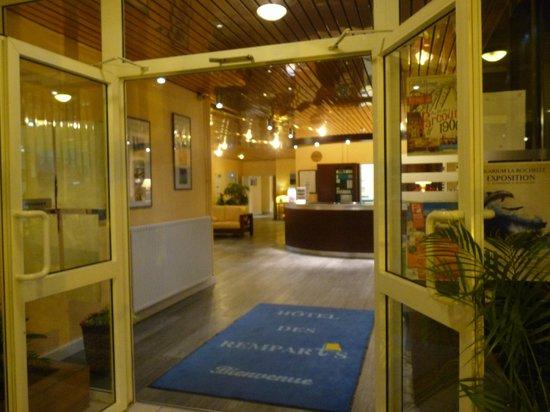 Hotel des Remparts : L'entrée de l'Hotel